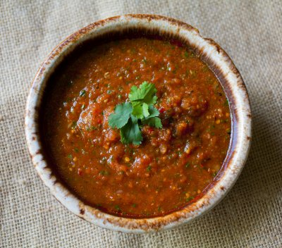 Roasted Tomato Salsa, Medium