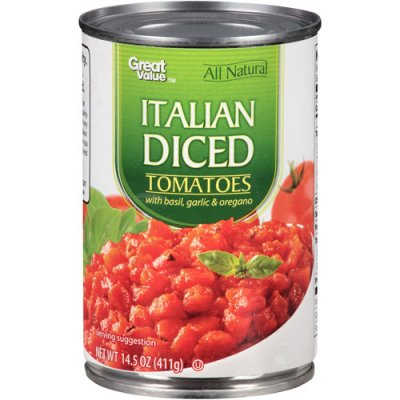 Diced Tomatoes, Italian Style