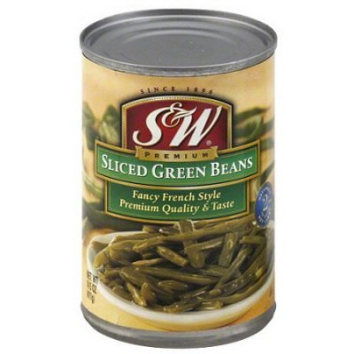 French Sliced Fancy Green Beans