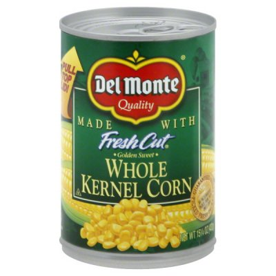 Golden Corn, Sweet Whole Kernel