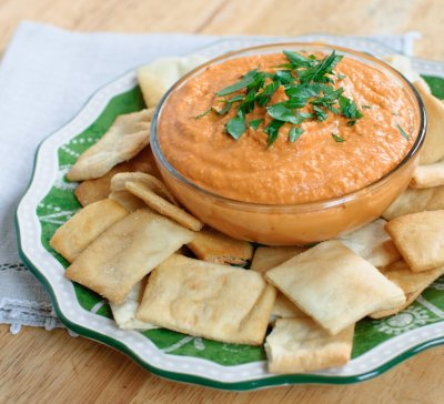 Hummus - Spicy Roasted Red Pepper