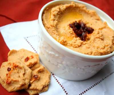 Hummus, Spicy Red Lentil Chipotle