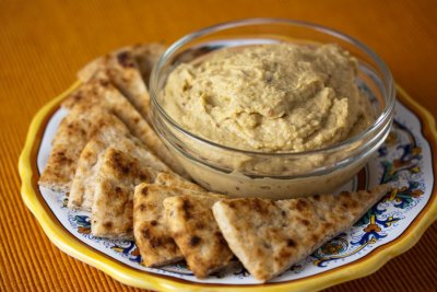 Hummus, Roasted Garlic