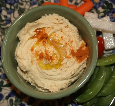 Hummus, Roasted Red Pepper