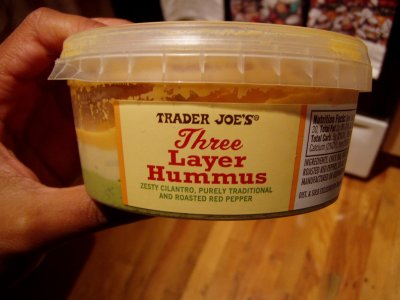Three Layer Hummus