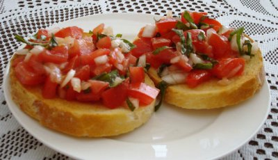Bruschetta, Authentic Recipe