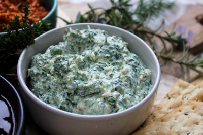 Dip,Creamy Spinach W/Real Sour Cream