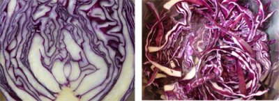 Red Cabbage With Apples Spread