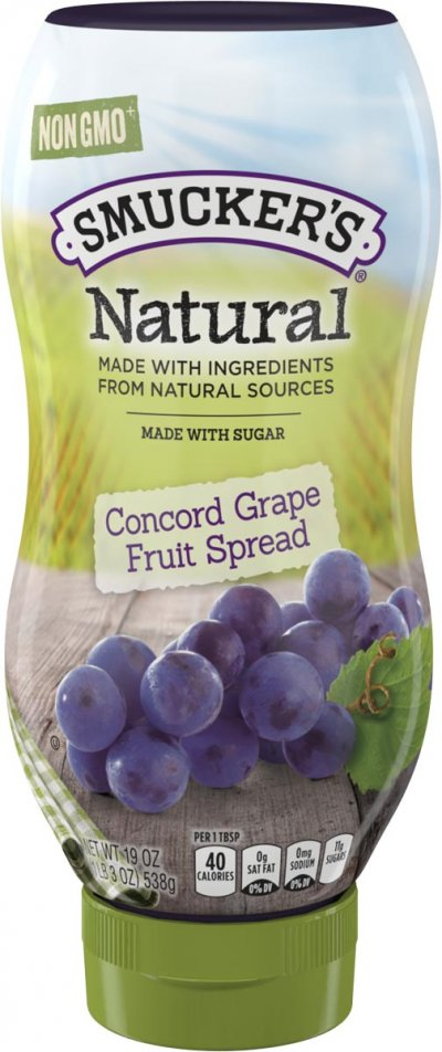 Natural Concord Grape Spread