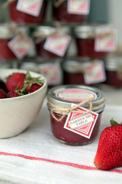 Organic Strawberry Preserve