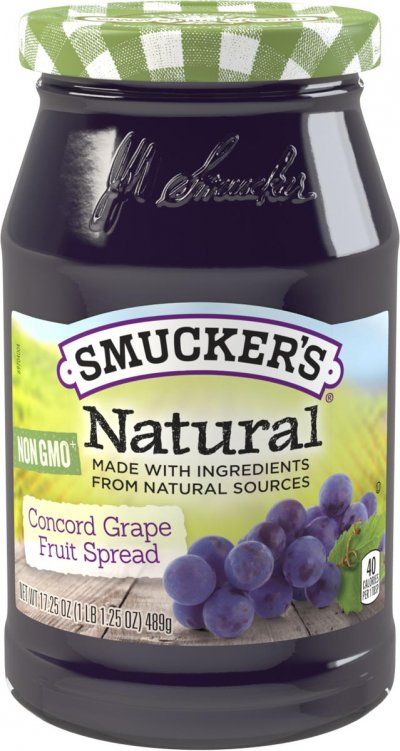 Concord Grape Fruit Spread