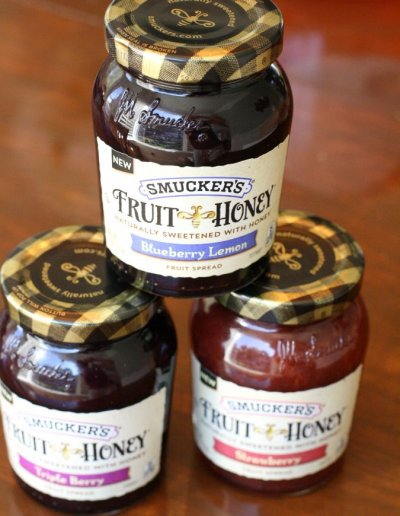 Fruit Honey, Blueberry Lemon, Fruit Spread
