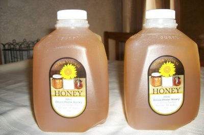 Honey, Clover, Pure, 100% Natural