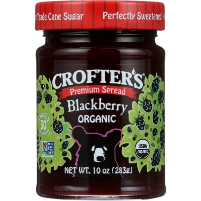 Premium Blackberry Fruit Spread