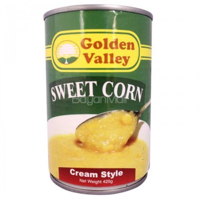 Corn, Golden Sweet, Cream Style