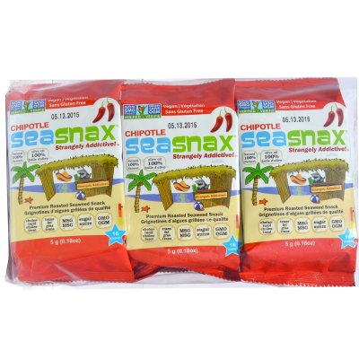 Grab and Go Roasted Seaweed Snack