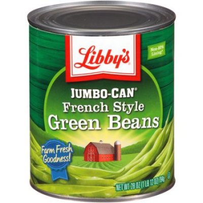 Green Beans,Jumbo-Can French Style