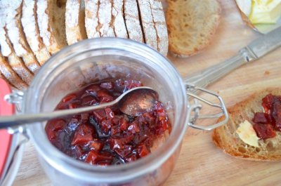 Pomegranate Raspberry Preserves