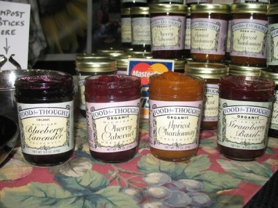Swiss, Blueberry Preserves