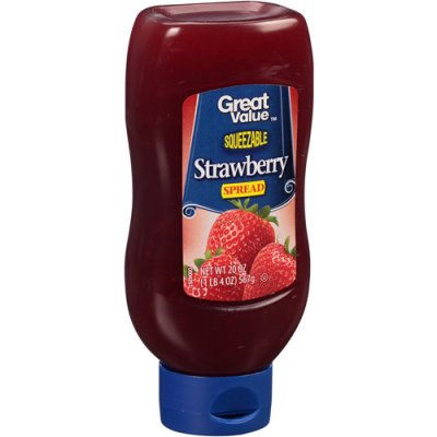 Strawberry Squeezable Spread