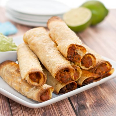 Black Bean & Cheese Taquitos