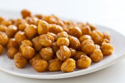 Crispy Crunchy Chickpeas For Snacking Plus Topping