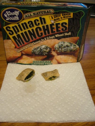 Spinach Munchees