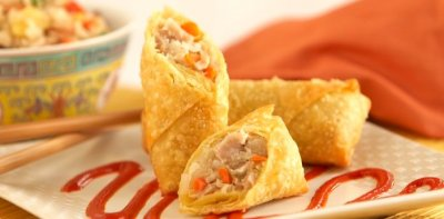 Traditional Vegetable Spring Rolls