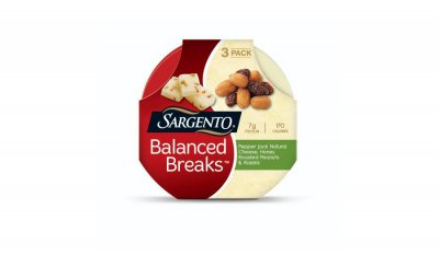 Balanced Breaks, Natural White Cheddar Cheese, Sea Salted Roasted Almonds And Dried Cranberries