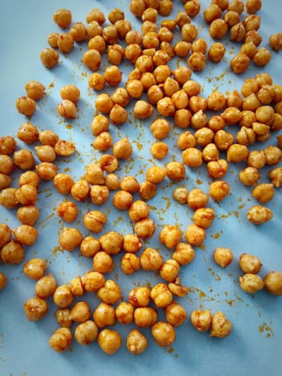 Crunchy Chickpeas, Sea Salt