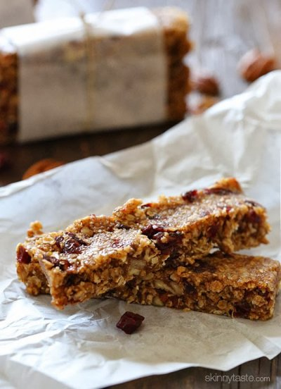 Maple Pecan Oat Bars