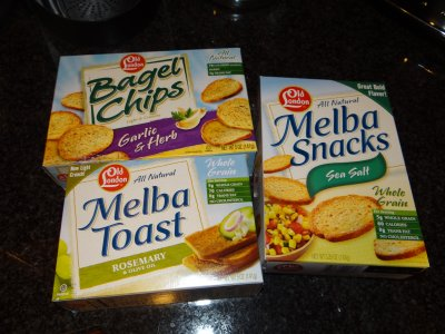 Melba Snacks, Sesame, Whole Grain