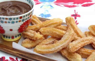 Mini Cinnamon Sugar Churros