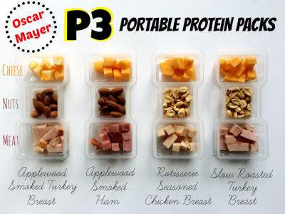 P3 Protein Pack, Nut Cluster