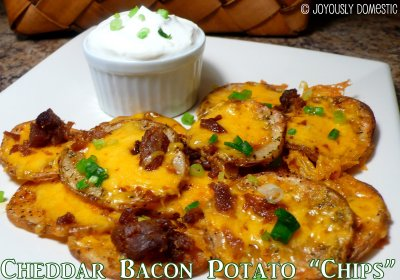 Potato Skins, Cheddar & Bacon