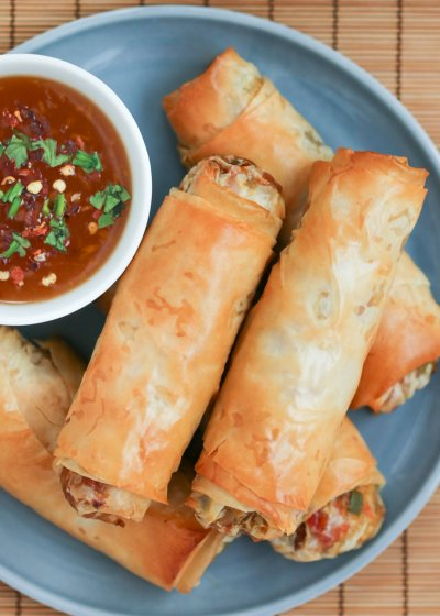 Vegetable Mini Egg Rolls