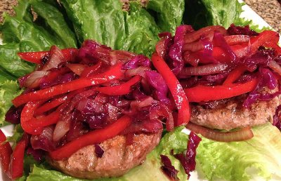 Turkey Burger Patties, Lean