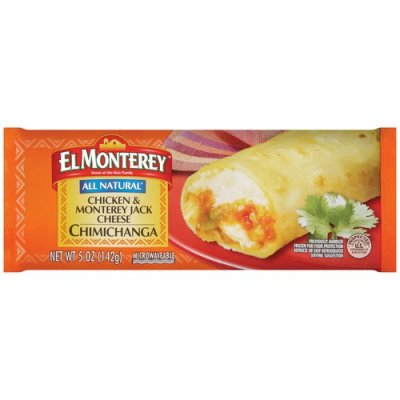 Chicken & Monterey jack Cheese