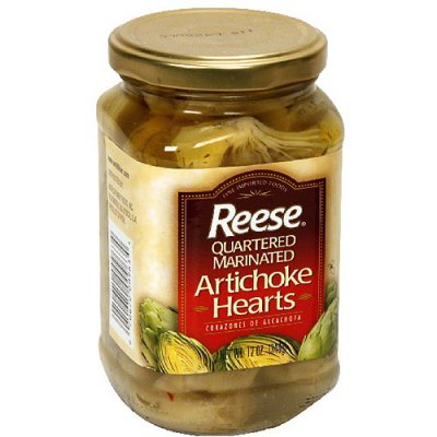 Artichoke Hearts, Quartered & Marinated