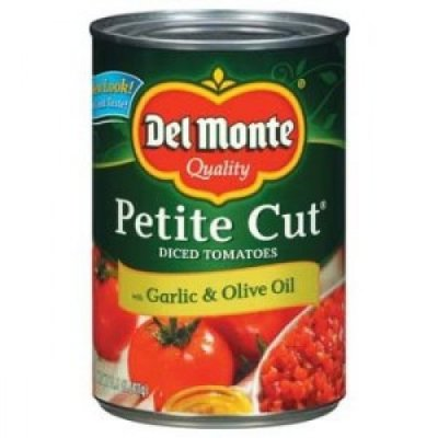 California Petite Diced Tomatoes With Garlic & Olive Oil