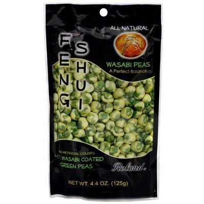 Green Peas, Hot Wasabi Coated