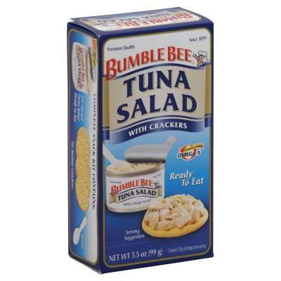Ready To Eat Tuna Salad with Crackers