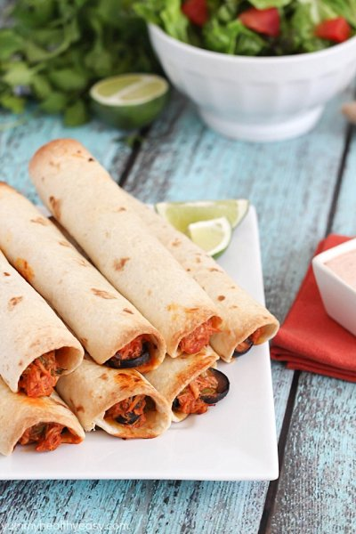 Taquitos,Beef & Cheese Rolled In Flour Tortillas 30 Ct