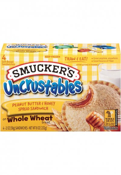 Uncrustables - PB & Grape Jelly Sandwich