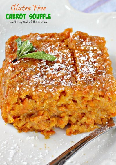 Carrot Raisin Souffle