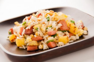 Hawaiian Style Rice And Vegetable Blend