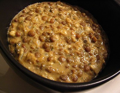 Lentil Curry, With Rice, Dal Makhani, Medium