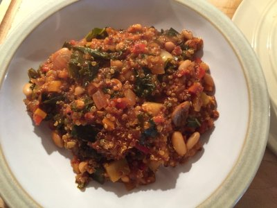 Moroccan Inspired Quinoa & Kale Blends