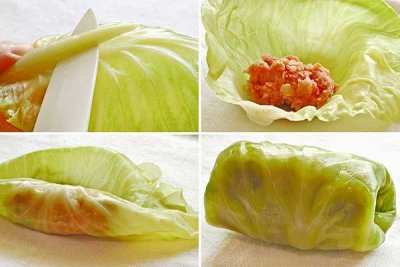 Beef Stuffed Cabbage, Hungarian Style
