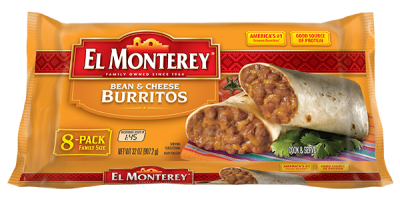 Burritos, Bean & Cheese Family Pack
